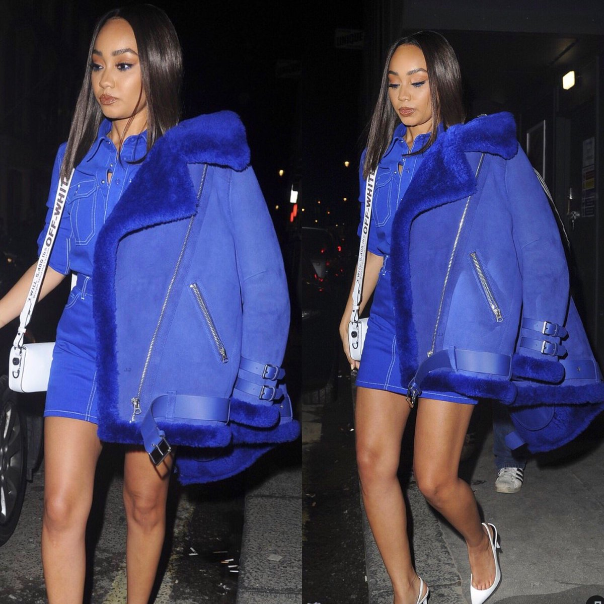 All blue everything.. 😍💙 mad for this @givenchy co-ord 😩😍x Leigh