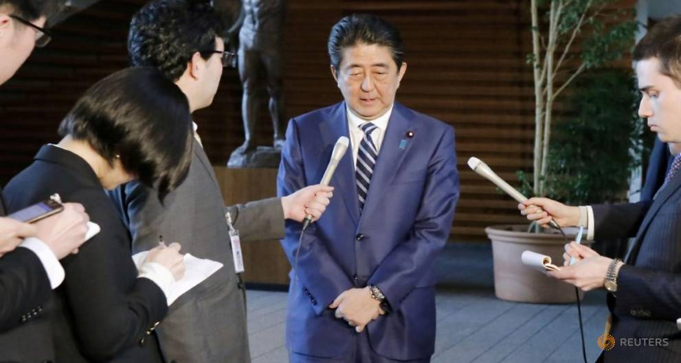 Most Japanese think PM Abe bears responsibility for scandal - polls https://t.co/23BmdIoQSm