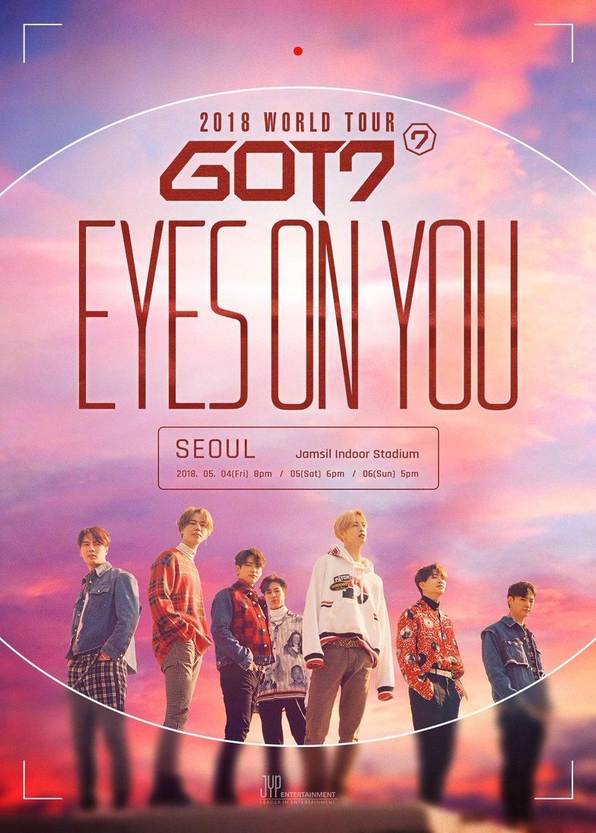 GOT7 2018 WORLD TOUR 'EYES ON YOU'  #갓세븐 #GOT7 #EYESONYOU