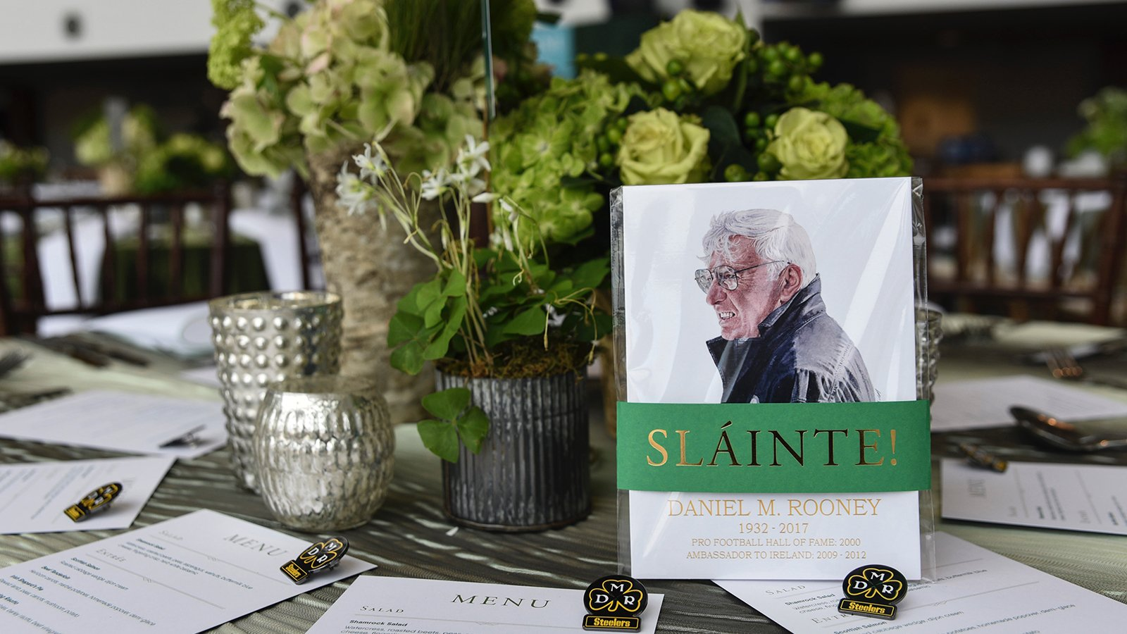 The annual Ireland Funds Pittsburgh Gala was an outpouring of memories of Dan Rooney. https://t.co/k8gDjHzu8b
