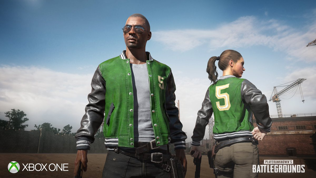 5M players. One sweet jacket. Chicken dinner not included. #PUBG Details here: https://t.co/pvpIHHDoHS