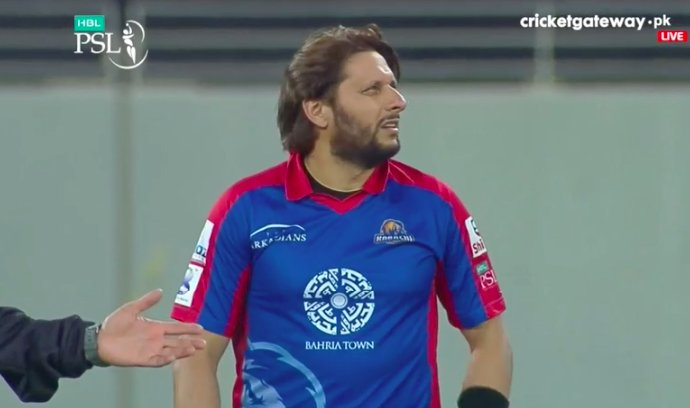 He is not fit at all , Afridi should tak...