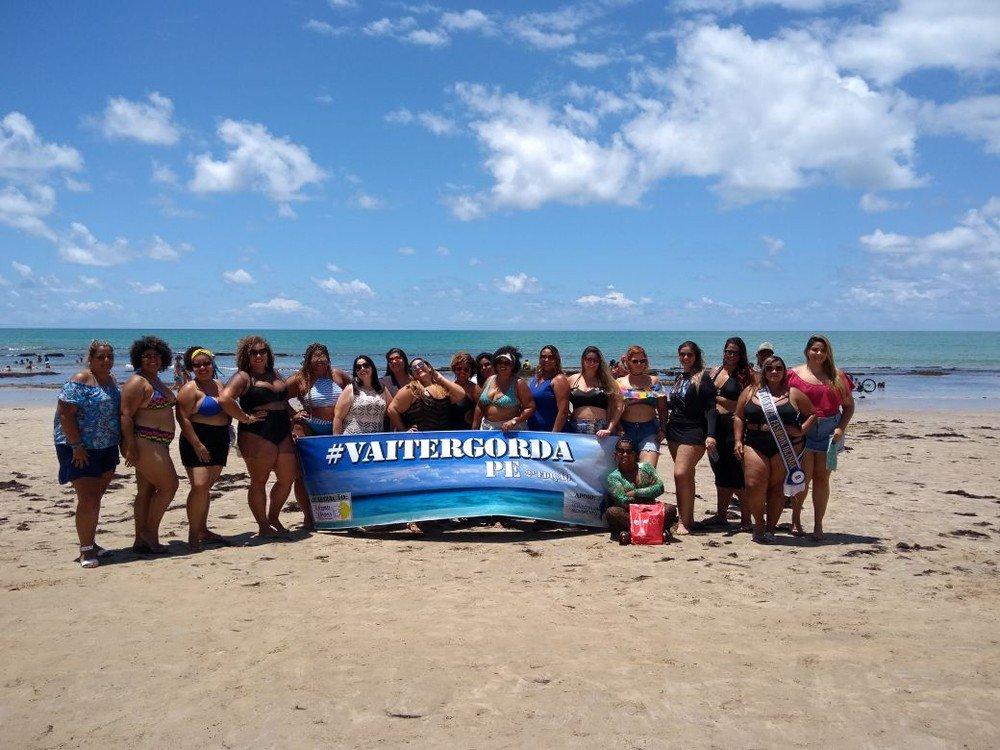 Ato na Praia de Boa Viagem pede fim do preconceito contra pessoas gordas https://t.co/RkprdiaDP6