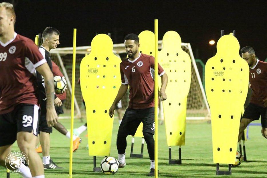 واصل فريق #الفيصلي تدريباته مساء اليوم ا...