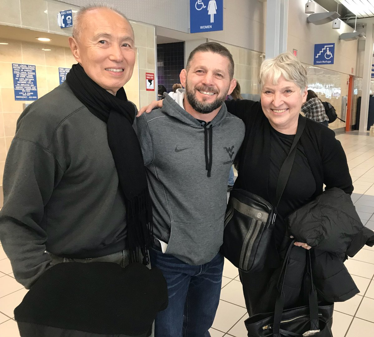 Ran into The Wrestling Legends Mr./Mrs....