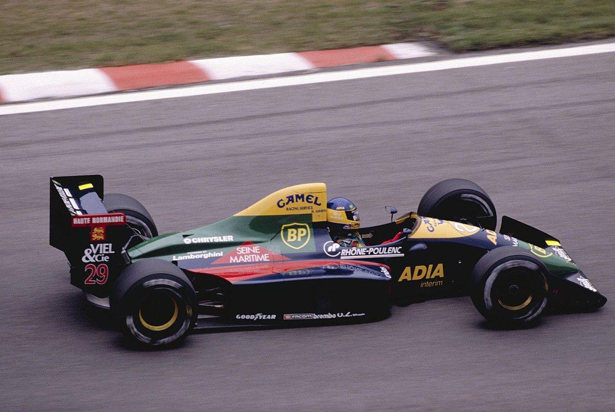 Michele Alboreto, Larrousse Lola LC89 -...