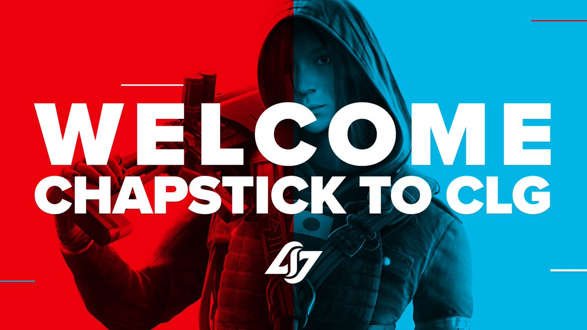 Please welcome @Chapstick_Bad to CLG Rainbow Six!  Full Announcement: https://t.co/Jp69m7xDfU