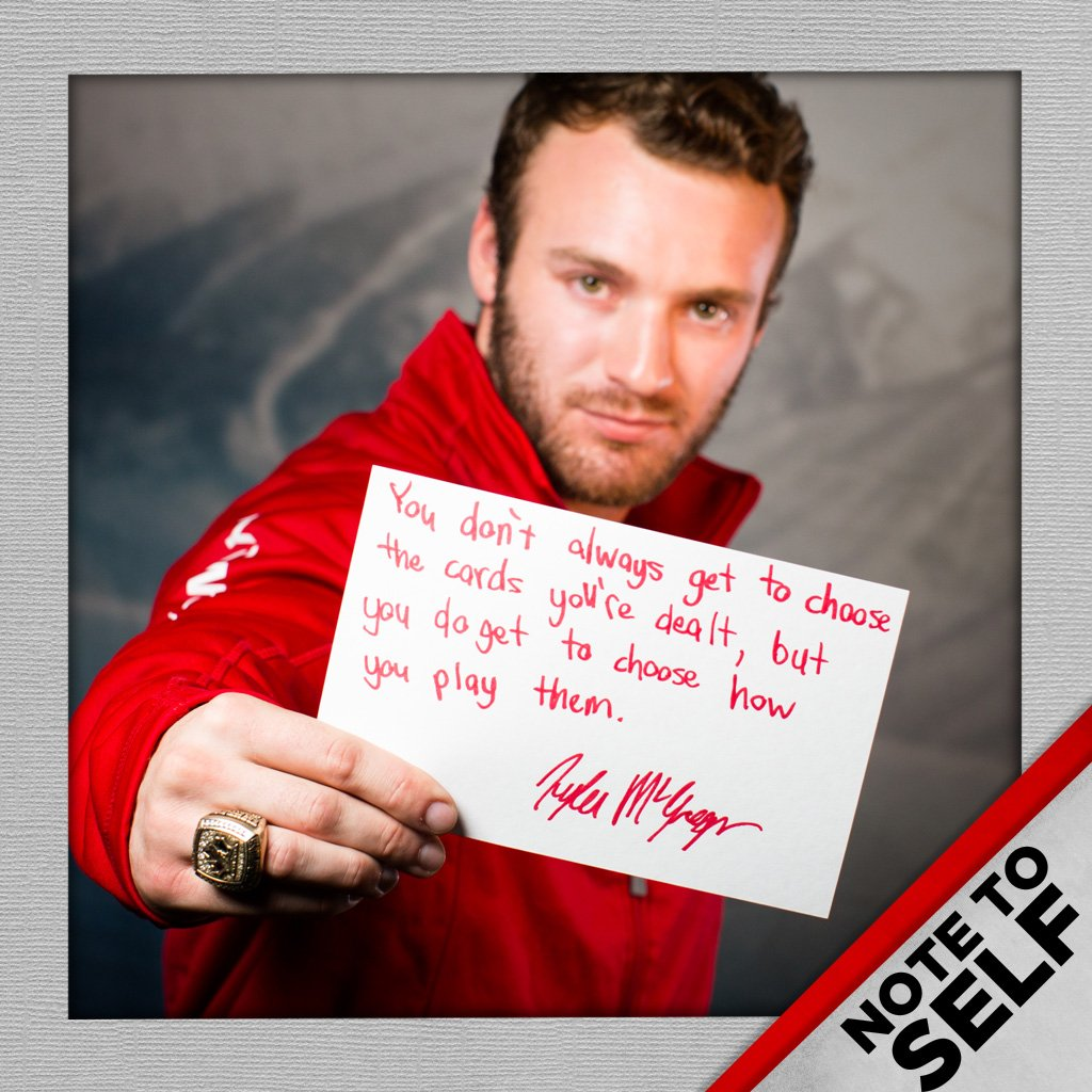 See what some of Canada's para ice hockey players had to say when we asked them to write a 'Note to Self' #PyeongChang2018  https://t.co/iwqOucQn3d