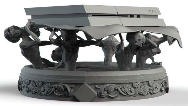 Artist Creates Creeptastic Custom Bloodborne PlayStation 4 Stand https://t.co/lOqV09aDjs