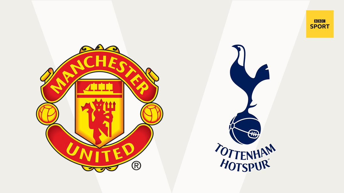 Man Utd v Tottenham  Watch the draw live...