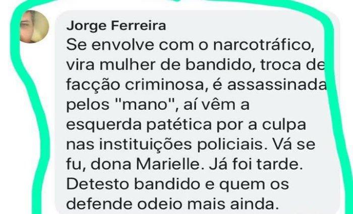 Delegado é afastado por postagem ofensiva nas redes contra Marielle Franco https://t.co/bGcyTIcPTl