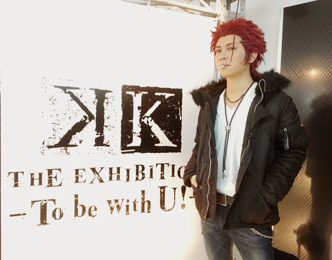 K THE EXHIBITION-To be with U!-周防尊/KANAME☆さん( ) #anime_k#ストフ