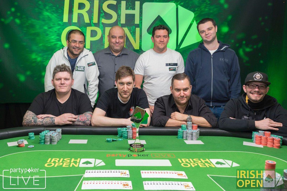 Watch irish open poker live freddie roulette man of steel