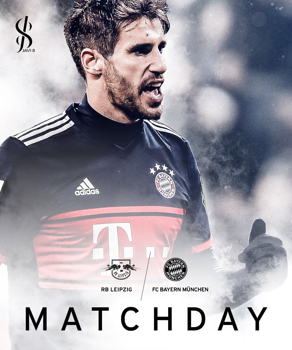 It's matchday again ⚽️🔥 #RBLFCB #fcbayer...