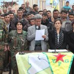 """Joint statement of Autonomous Afrin Canton's Administration regarding the invading forces' attacks and resistance in #Afrin: """"The heroic resistance of Afrin against the Turkish army and their partners, remnants of Daesh and al-Nusra, has entered its 58th day."""""""