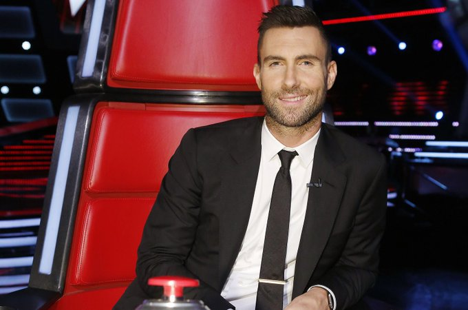 Happy 39th Birthday to Adam Levine! One of the coaches on The Voice.