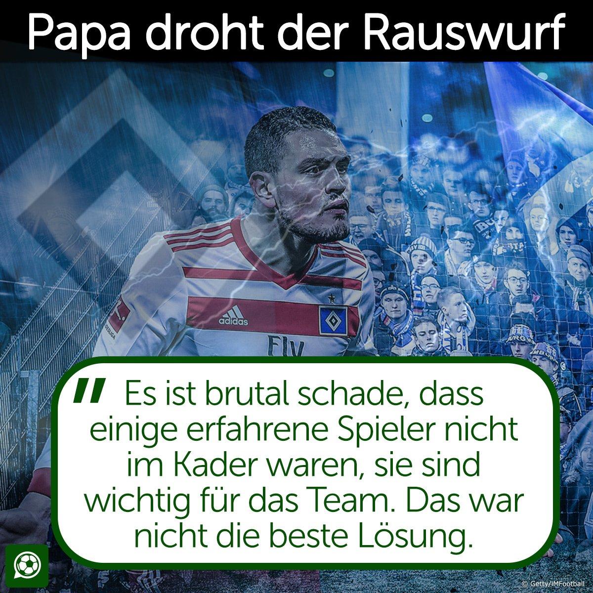 Spielt er nie wieder für den @HSV nach s...