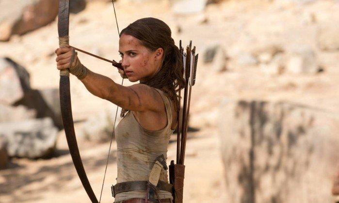 Novo filme de Lara Croft traz Alicia Vikander no papel da heroína: 'Sou fanática por videogames e joguinhos de computador', revela a atriz sueca. https://t.co/KCdP7FIwXY
