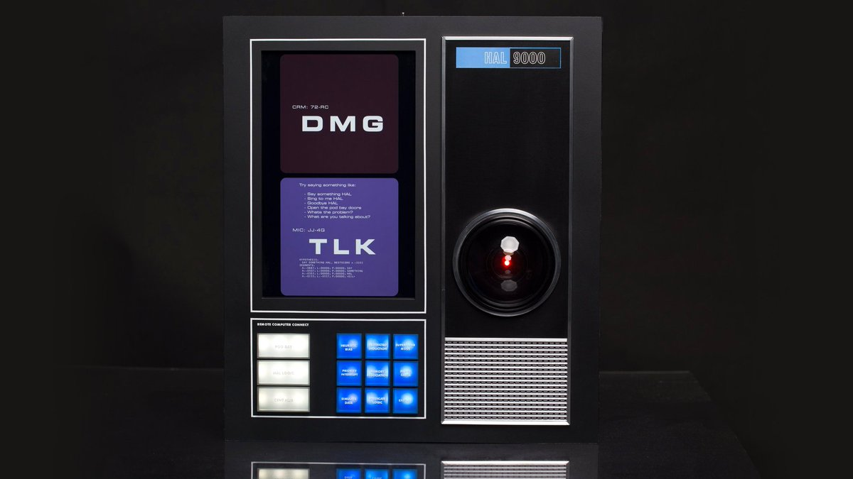 You can soon own a HAL 9000 replica that uses Amazon Alexa to control your home, Dave https://t.co/bdveqG1dPG