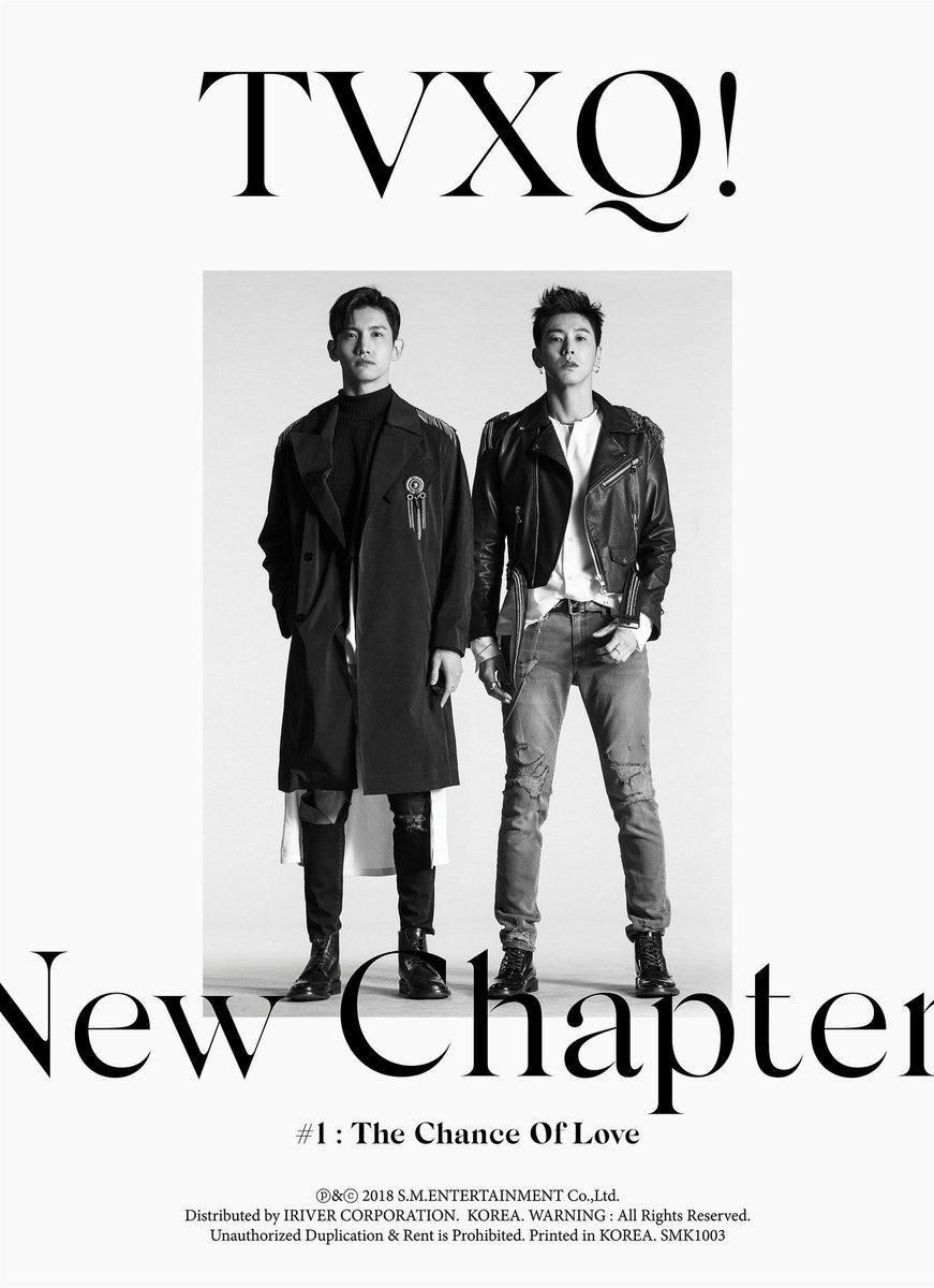 New Chapter #1 : The Chance of Love 📆 2018.03.28 6PM KST  #TVXQ! @TVXQ #U_Know #Max #동방신기 #유노윤호 #최강창민