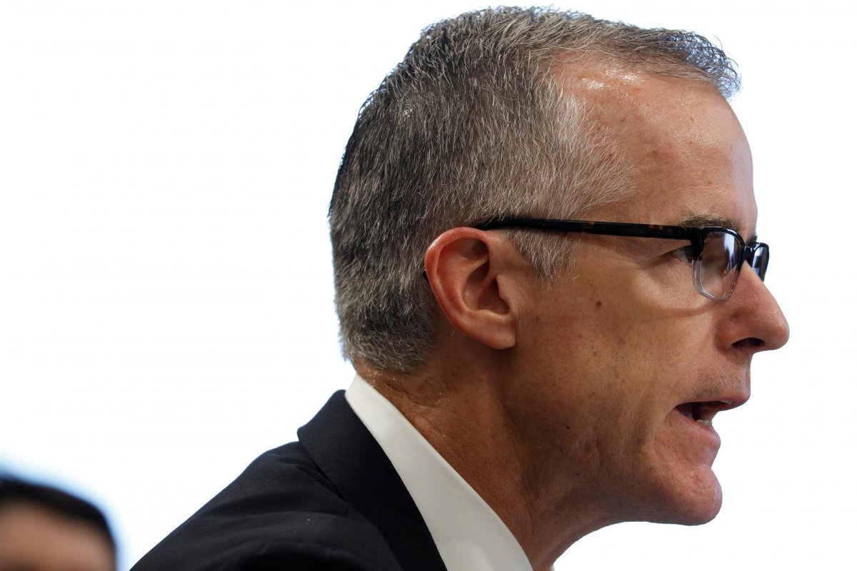 Democrat lawmakers offer sacked former FBI deputy chief McCabe a two-day job so he can collect his pension  https://t.co/Afvndw1YlA