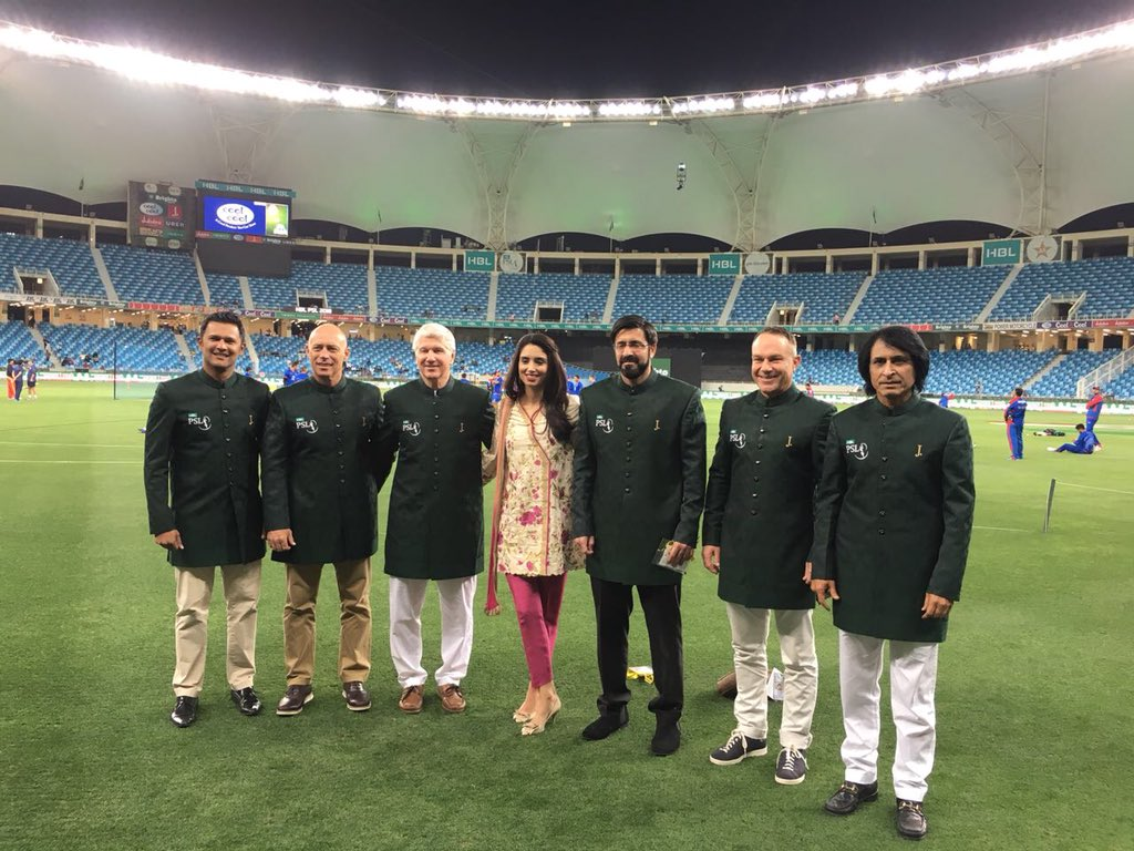 The HBL @thePSLt20 hosting and commentar...
