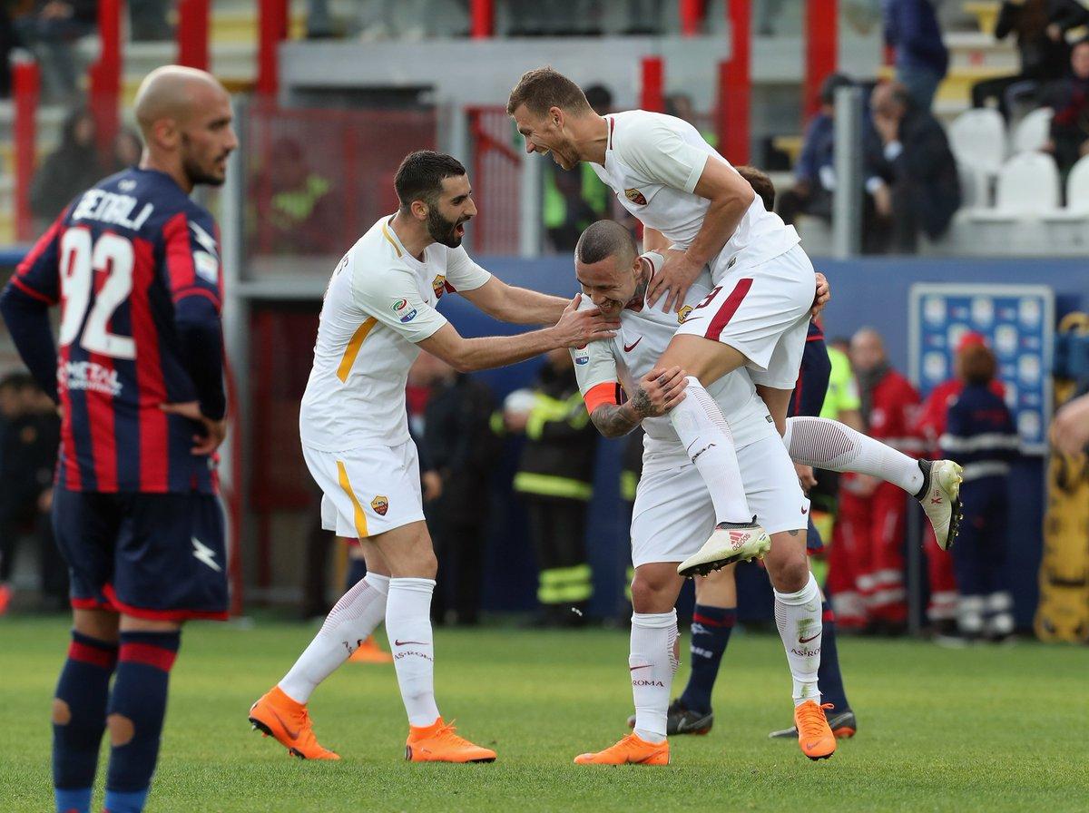 Serie A: AC.Milan oo si dirqi ah uga fakatay Chievo iyo Roma oo garaacday Crotone