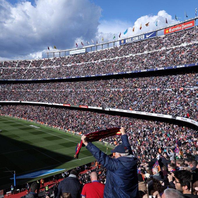 Camp Nou twitter.