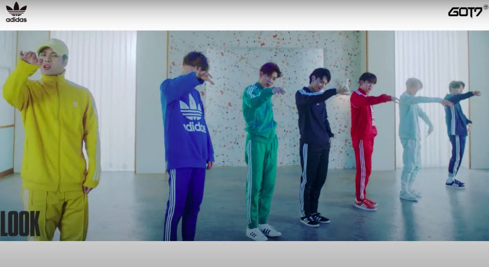 #GOT7 drop full performance with 'Adidas' + studio teaser video https://t.co/XN26Moevea