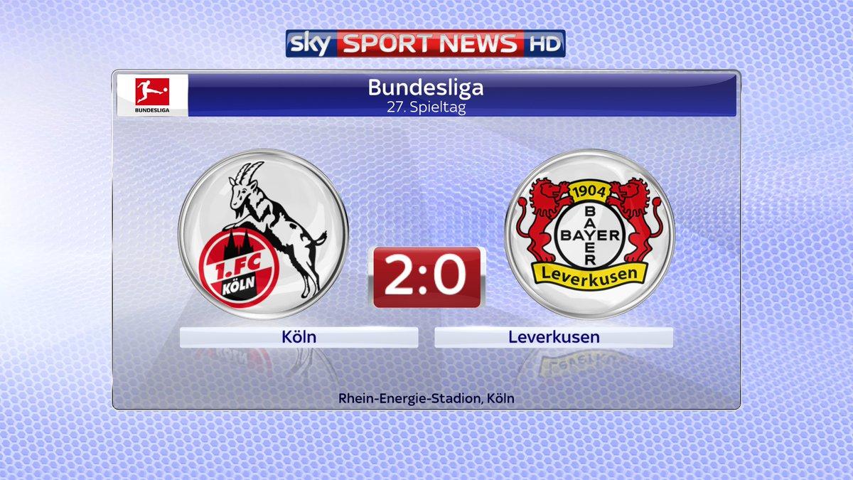 +++ BUNDESLIGA FLASH +++ Köln lebt!  htt...
