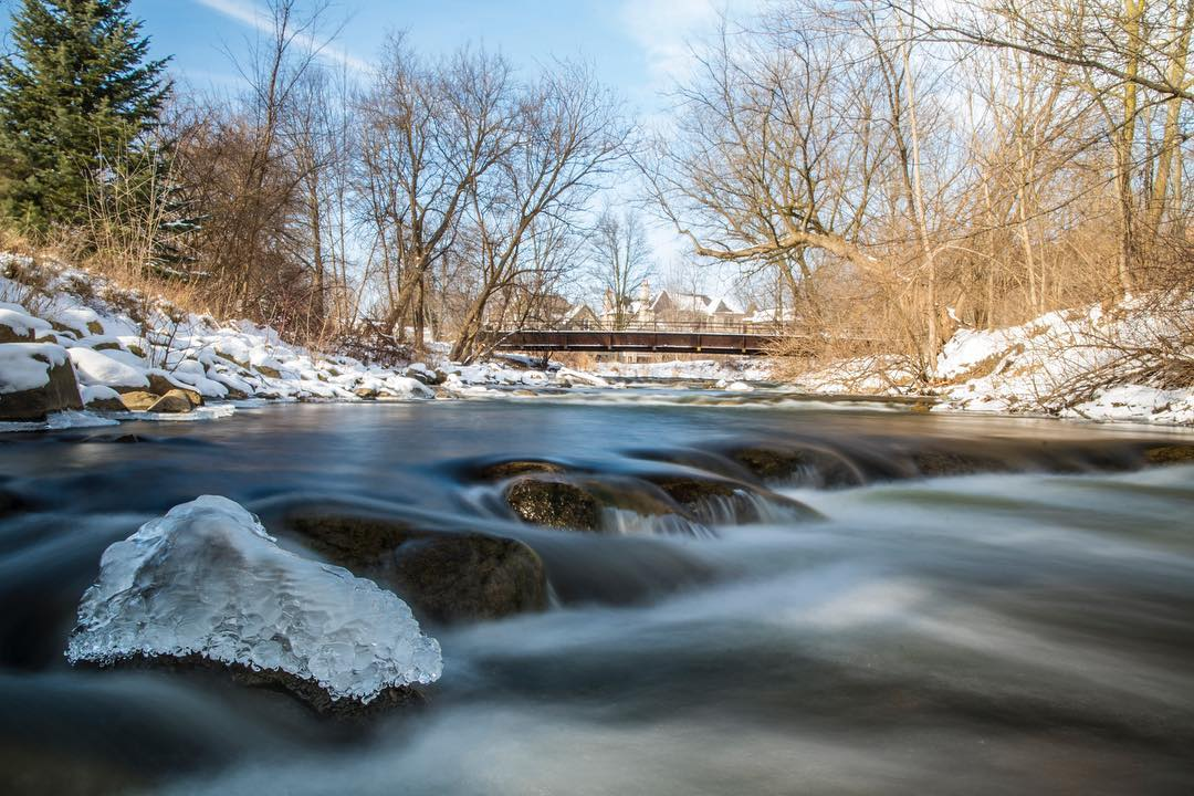A river cuts through rock, not because of its power, but because of its persistence. - Jim Watkins 📸: Instagram fan jmozzy in Rochester #PureMichigan