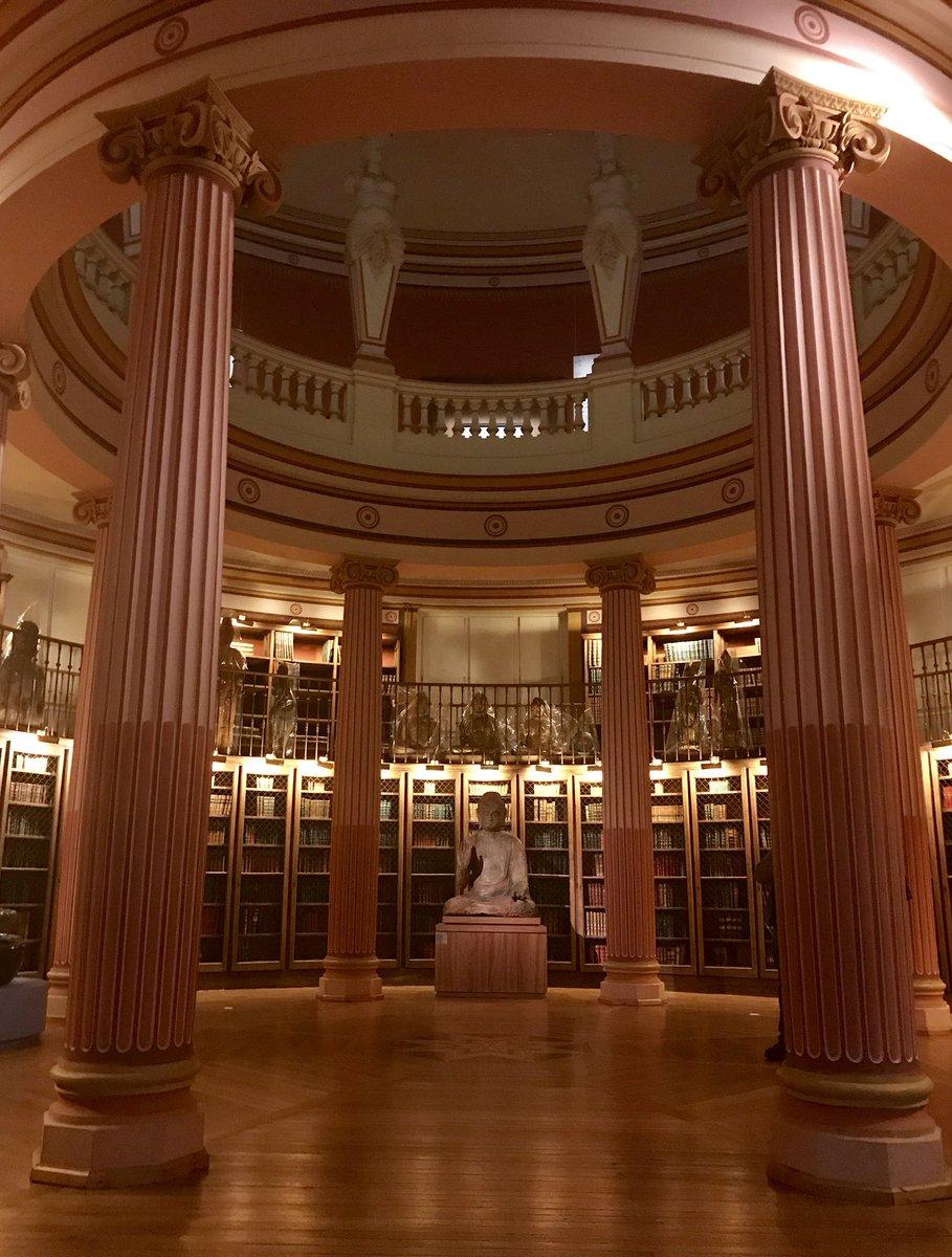 @MuseeGuimet 's library (1899)La #Biblioteca del museo nazionale delle arti asiatiche #ParisNice #Leggiamo #Viaggi  - Ukustom