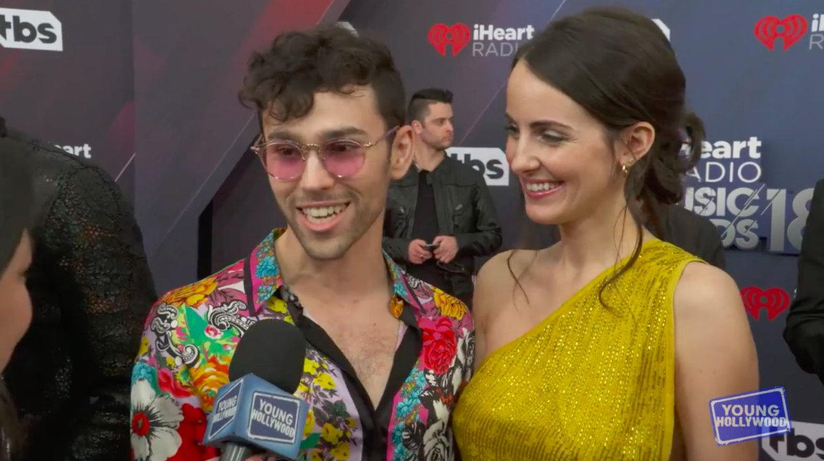 .@MAXHellsKitchen & more reveal who they're loving in music right now! #iHeartAwards https://t.co/FZ9aQAif4f