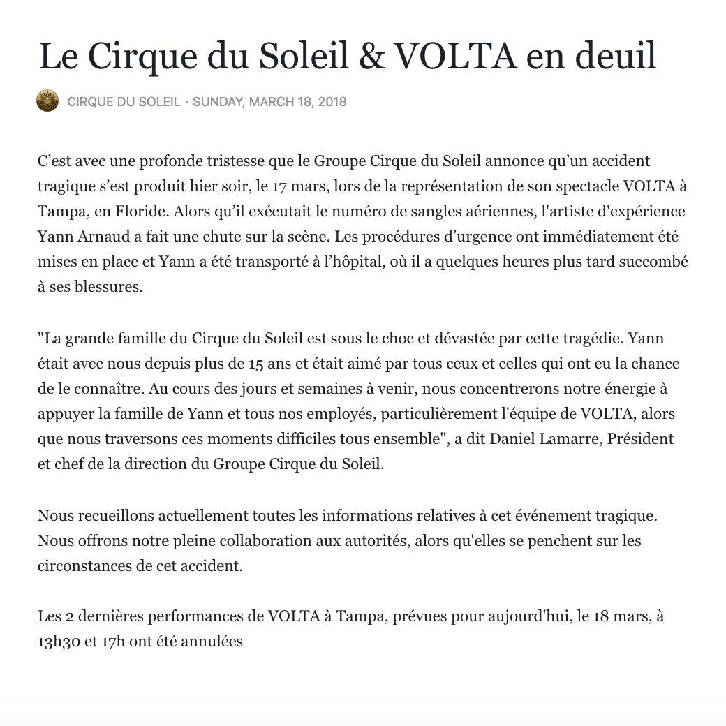 Cirque du Soleil on Twitter: \
