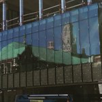 Old reflected in the new.  Exciting transformation