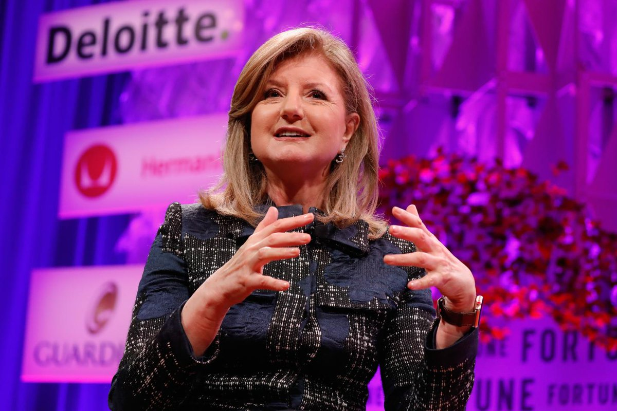 Arianna Huffington says to skip the gym and tuck your phone in for a better night's sleep  https://t.co/Z8o68HWvHo
