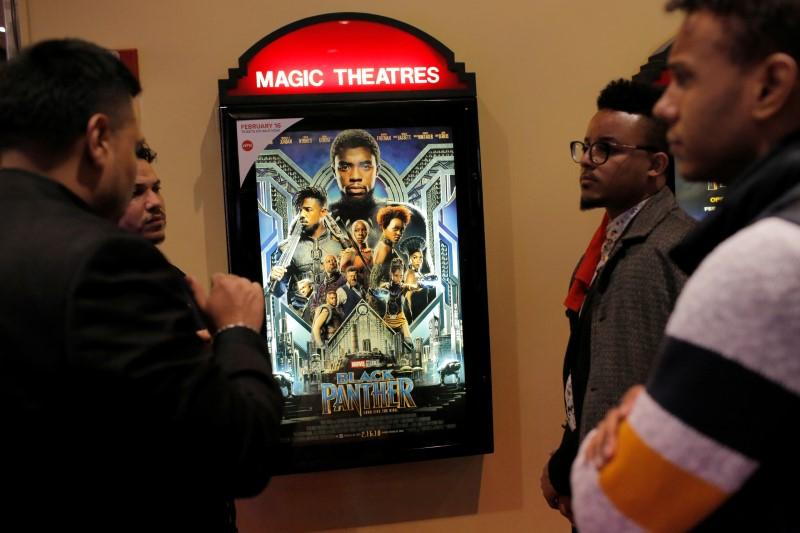 'Black Panther' surpasses 'Tomb Raider' for fifth box office crown https://t.co/go6XhMR48X