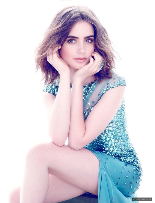Lily Collins, Happy Birthday