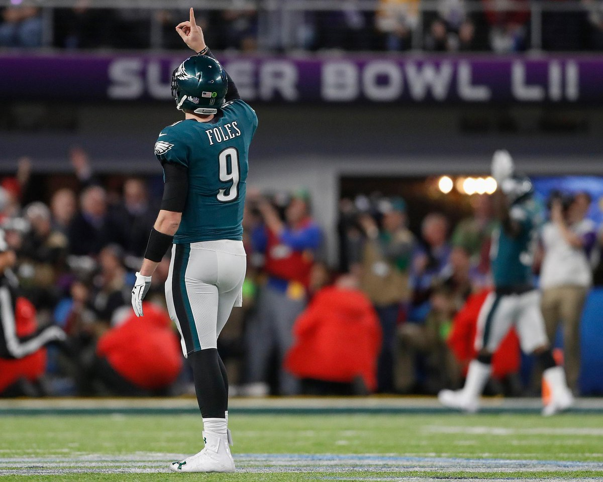 Nick Foles gets payment today that has b...