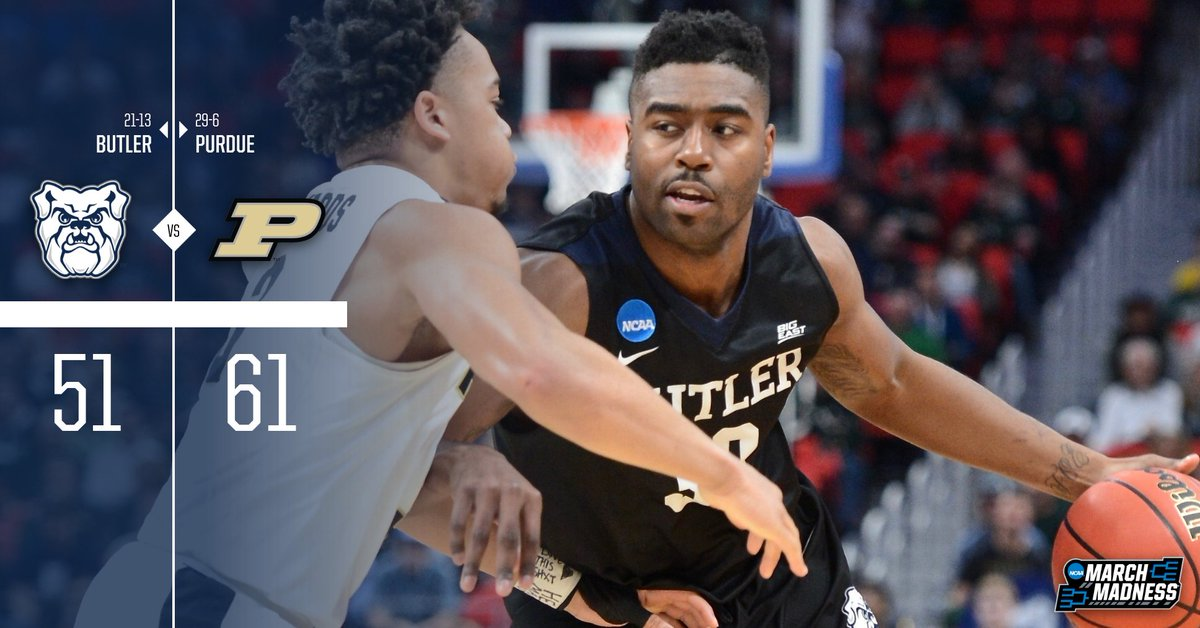 Butler trails by ten, the largest defici...