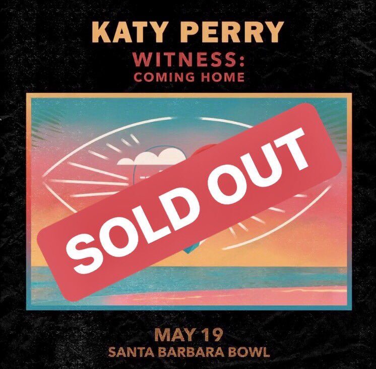 Thank you for standing in line ALL DAY 🌞➡️🌛and selling out the Santa Barbara Bowl for #WitnessComingHome. If you couldn't get 🎟, you can still support the community by donating here: https://t.co/bINqjGB655