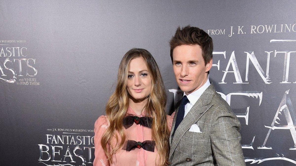 Eddie Redmayne and wife Hannah Bagshawe...