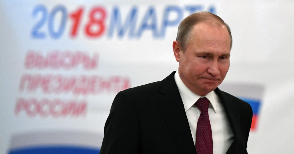 BREAKING: Vladimir Putin wins 73.9% of vote in Russia's presidential election, exit poll suggests https://t.co/aKANZOYTQ1