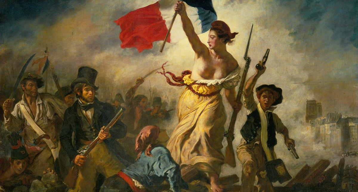 Facebook censure une représentation du tableau 'La liberté guidant le peuple'  ➡️ https://t.co/kC9dq1Uwtm