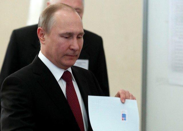 #ÚLTIMAHORA Vladímir Putin lidera el recuento de votos con el 71,97% de los votos https://t.co/EAMI5Lcz1o https://t.co/pfMjpfLMip
