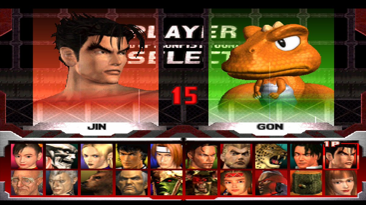 Jinkazshima On Twitter Non Stop Playing Tekken 3 Again With Epsxe Since Tk7 Is Dead To Me And I Ve Unlocked Every Character I Will Never Forget This Legendary Colorful Character Roster And How
