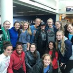Real Colorado's '01 ECNL team ran into @beckysauerbrunn at the airport and she was awesome enough to take a picture. #ThisIsReal