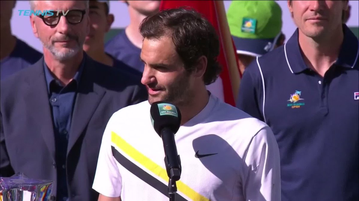 🇨🇭 From one legend to another 🇦🇷  @roger...