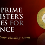 One week to go! Nominations for the 2018 #PMPrize for #Science close 5pm AEST on 26 March. Submit the name of an outstanding scientific achiever or excellent #scienceteacher here: https://t.co/xJpcWBphN8  👩‍🔬👨‍🔬🔬📨📨📨