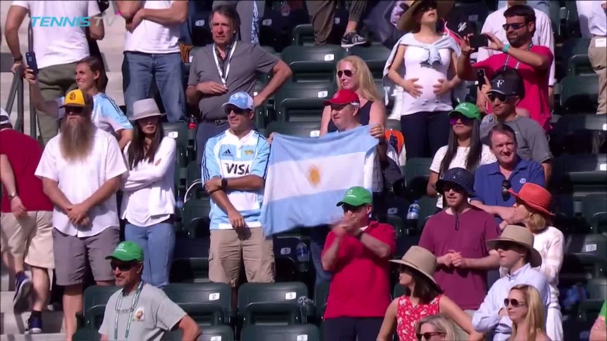 Del Potro ❤️s Indian Wells   Indian Well...